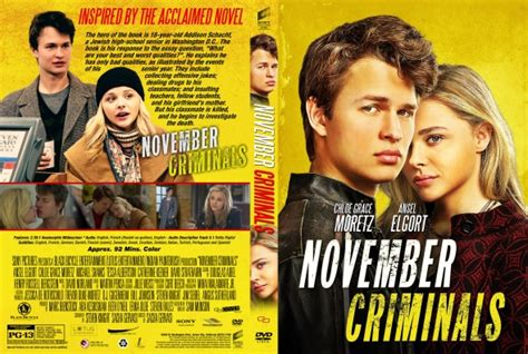 november criminals november criminals dvd covers labels by covercity