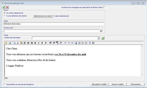 Modele Email