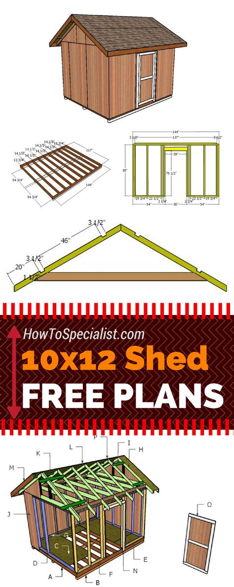 shed plans  outdoor shed plans