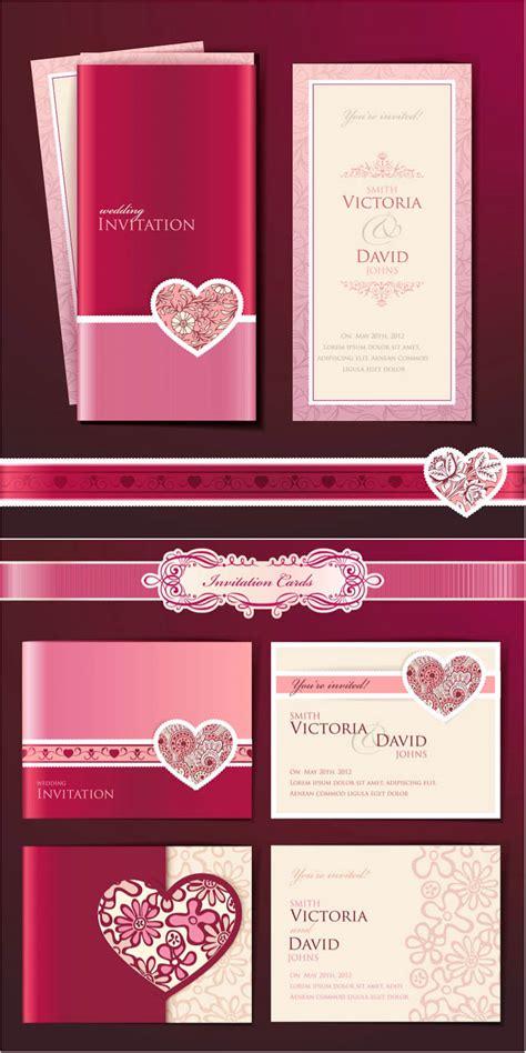 free vector wedding invitation wedding invitation cards vector free vectorpicfree