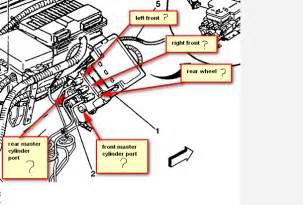 Service Brake System 2005 Tahoe Chevy Silverado Brake Line Diagram Car Interior Design