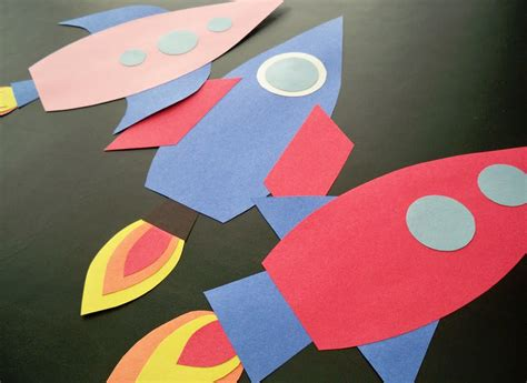 paper n craft rocket craft idea yoyobirthday for quot on the launch pad