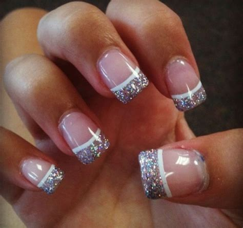 Tip Design Acrylic Nails