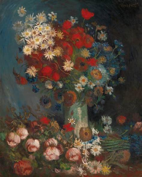 stilleven bloemen van gogh stilleven met akkerbloemen en rozen kr 246 ller m 252 ller museum
