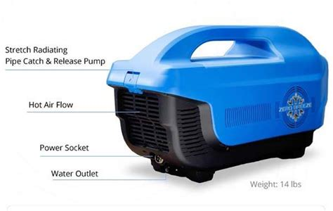 Zero Breeze Portable Air Conditioner with Bluetooth Speaker, LED Light and Power Bank   Gadgetsin