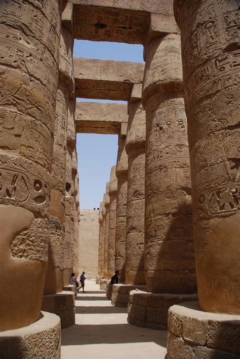 Small Columns Smaller Columns Hypostyle Of