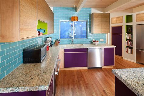 purple kitchen backsplash purple kitchen designs pictures and inspiration