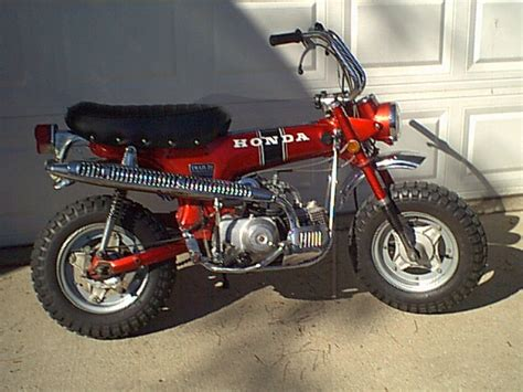 honda 70 trail bike motorcycles