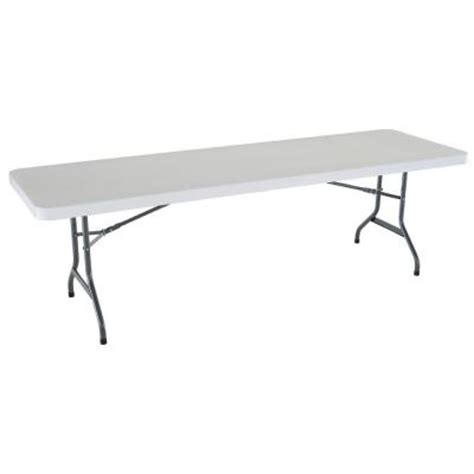 Lifetime 8 Foot Table by Lifetime 8 Ft Commercial Folding Table 2980 At The Home Depot