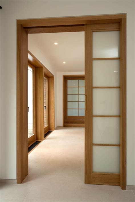 Wood Interior Doors With Glass Choosing The Right Ideas Of The Sliding Interior Doors For The Best Look And The Functions
