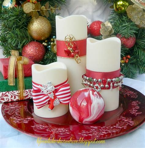 look at making your own diy christmas candles