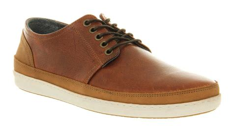 mens office manta lace brown leather casual shoes ebay