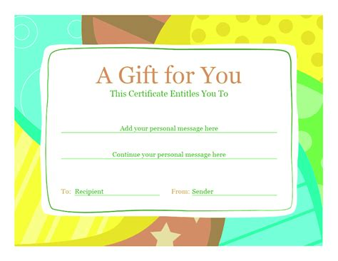 birthday card templates for word 2013 birthday gift certificate template template for word 2013