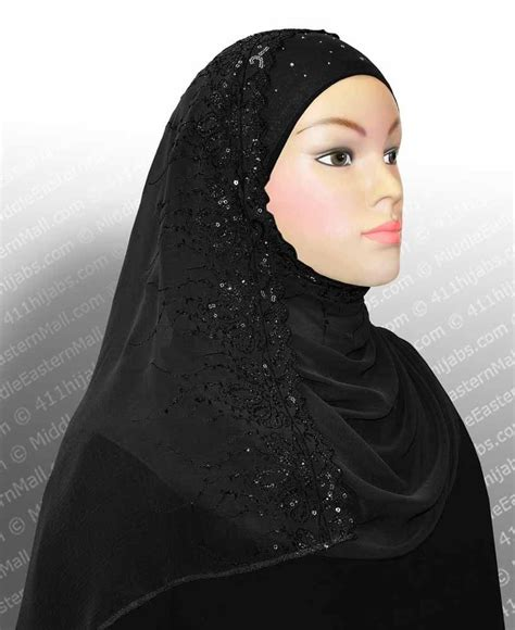 Pashmina Turban Instan Biru Glitter glitter instant slip on muslim headcover sequins s instant shawl ebay