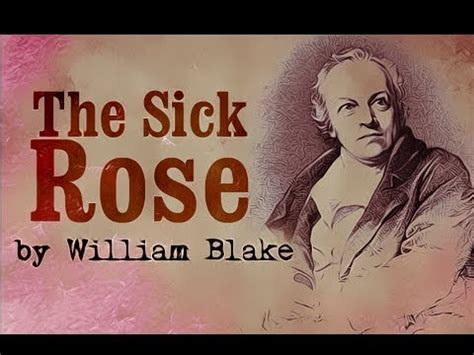 theme sick rose william blake william blake the sick rose doovi