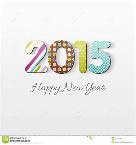new years 2015 vacation time happy new year 2015 card royalty free stock images