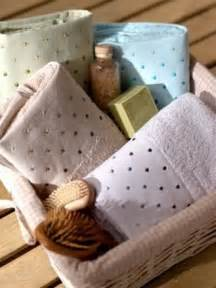 pictures of unique towel gift baskets beautiful