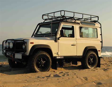 defender 90 roof rack by safety devices