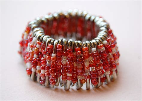 how to make beaded safety pins safety pin bracelet how to make in 27 ways guide patterns
