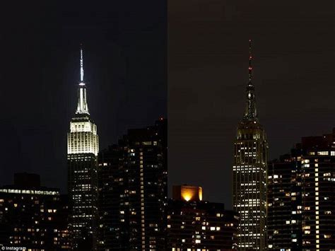 empire state lights today big ben eiffel tower and sydney opera house turn for