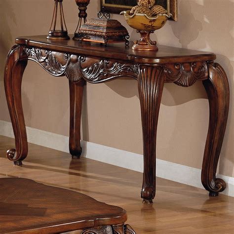furniture sofa tables brown wood console table a sofa furniture