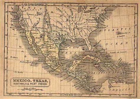 texas map 1845 our heritage new braunfels conservation society