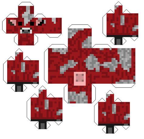 Minecraft Papercraft Template - minecraft papercraft templates