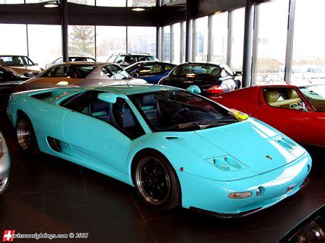 Baby Lamborghini Baby Blue Lamborghini