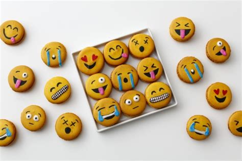 kitchen emoji emoji macarons recipe genius kitchen