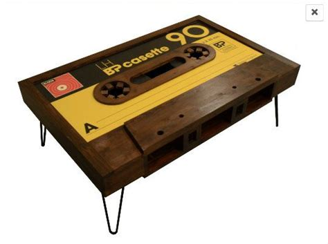cassette coffee table for sale handmade cassette table with storage customisation