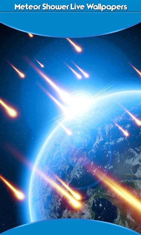 Meteor Shower Live by Meteor Shower Live Wallpapers Best Free App Android Freeware