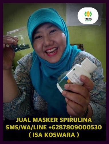 Jual Masker Spirulina Medan jual masker wajah spirulina asli tiens di medan jual