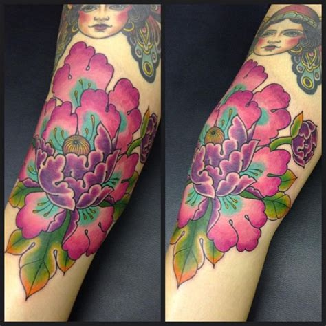 peony flower tattoo 25 best ideas about japanese flower on