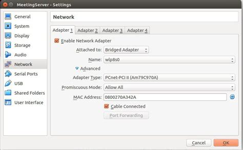 configure network ubuntu server virtualbox remote access for ubuntu server from virtualbox