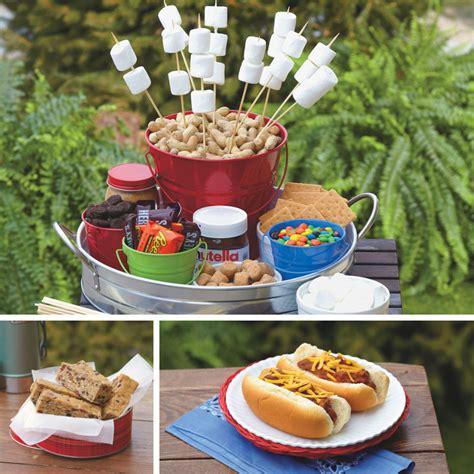 Backyard Food by Cing Food Birthday Theme Backyard Indoor Cing