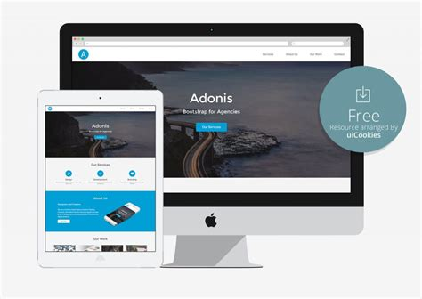 bootstrap responsive template top 100 free html5 responsive bootstrap themes