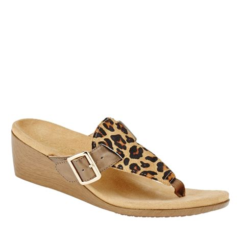 orthaheel wedge sandals vionic with orthaheel technology alanis wedge sandals