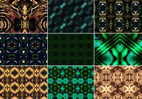 nice rad kaleidoscope patterns  photoshop patterns