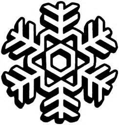 Snowflake clip art black and white snowflake clipart