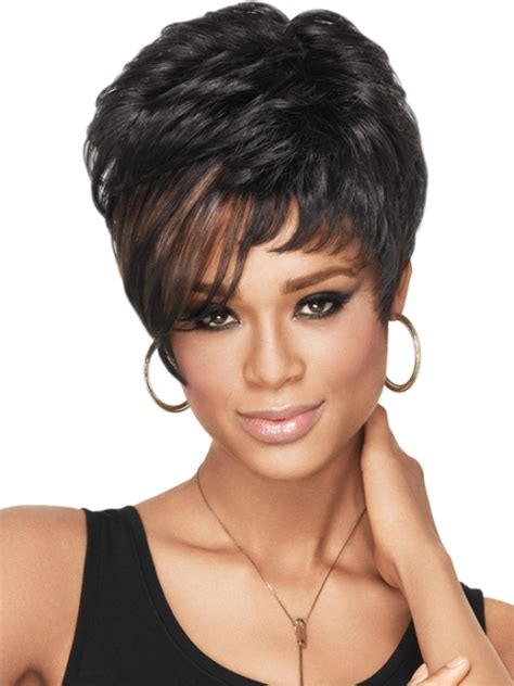 black plus size women with short haircuts short hairstyles for black women