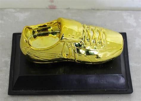 golden shoe football football golden boot shoe trophy replica the golden boot