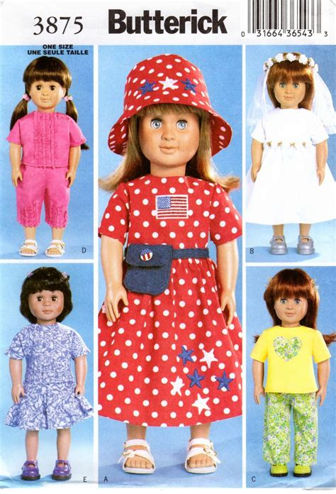 pattern matching clothes 8 best sewing patterns for 18 quot dolls and matching outfit