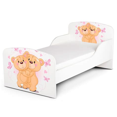 teddy bear bed pricerighthome teddy bear hug toddler bed with protective