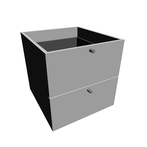 expedit insert with 2 drawers white design and decorate