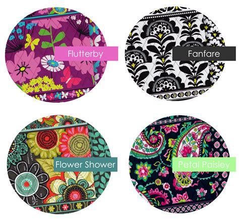 vera bradley colors monogram tote bags vera bradley new