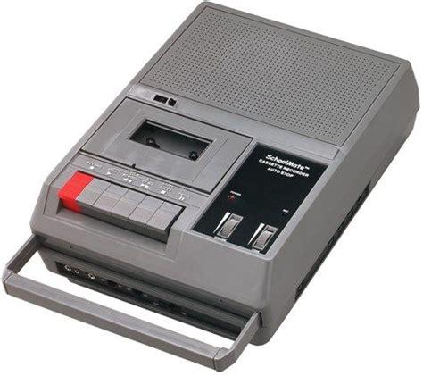 cassette player portable hamilton electronics ha 767 heavy duty portable cassette