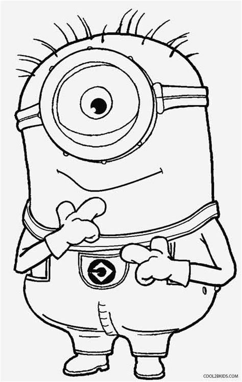 coloring pages minions despicable me printable despicable me coloring pages for kids cool2bkids