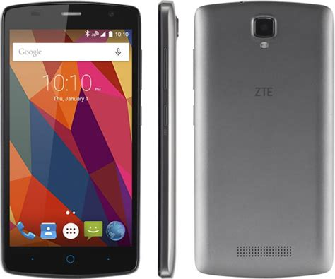 zte blade mobile phone zte blade l5 plus launched with 5 inch display and 8mp