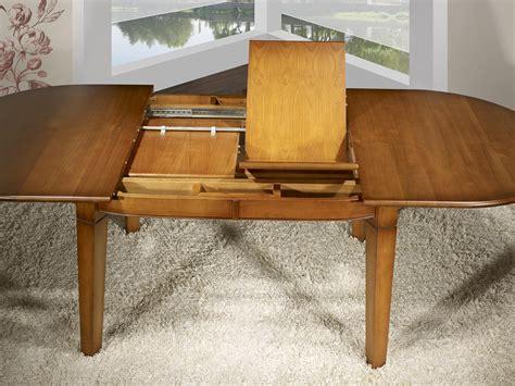 table ovale 180x110 en merisier de style cagne 4 pieds