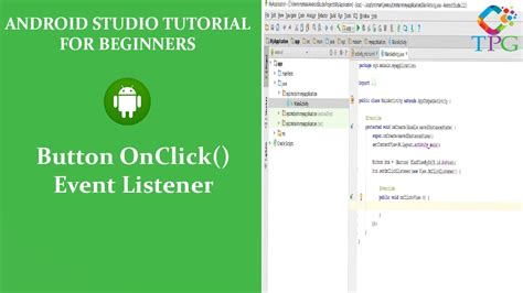 android onclick android button onclick event listener